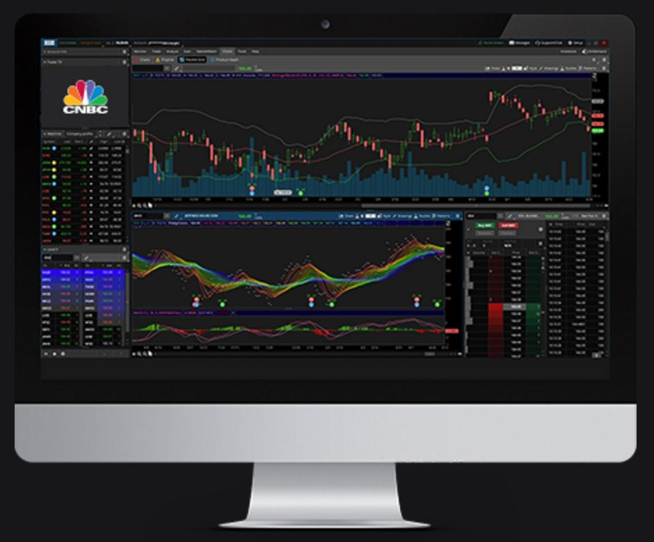 trading software example