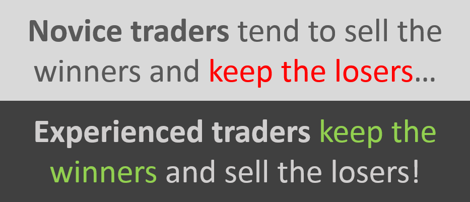 difference between novice and experienced traders